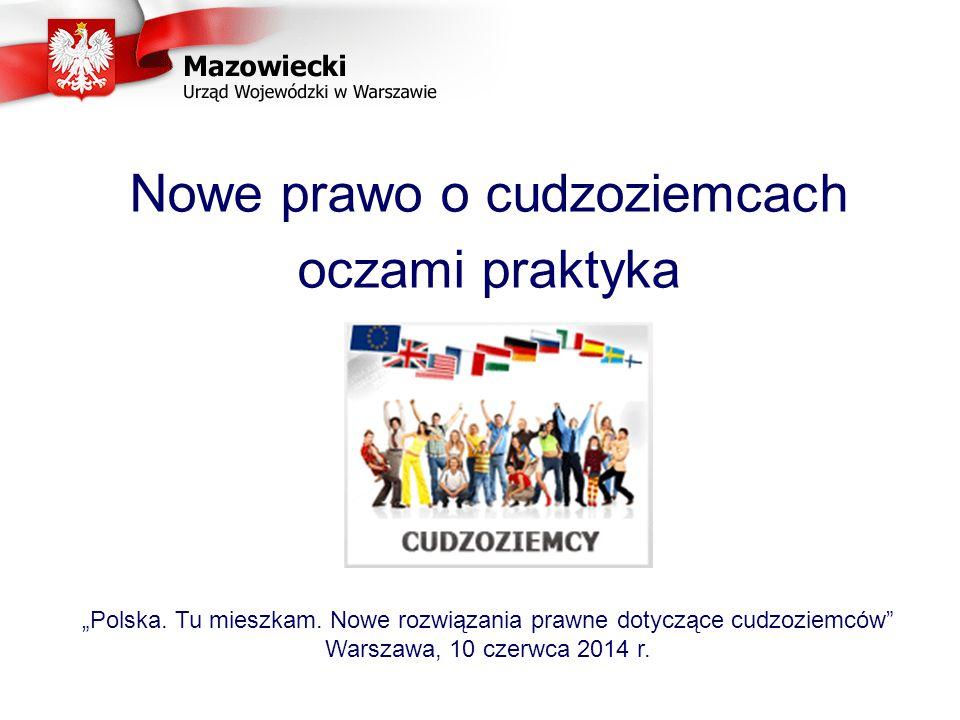 """Nowe prawo o cudzoziemcach oczami praktyka """"Polska."""