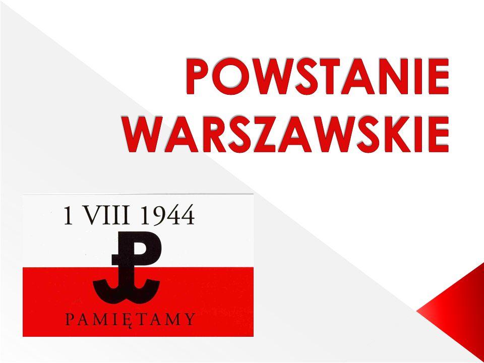  Powstanie Warszawskie dla jednych jest symbolem walki o wolność, dla innych historią tragiczną, bezsensownym wydarzeniem, które doprowadziło do śmierci wielu osób.