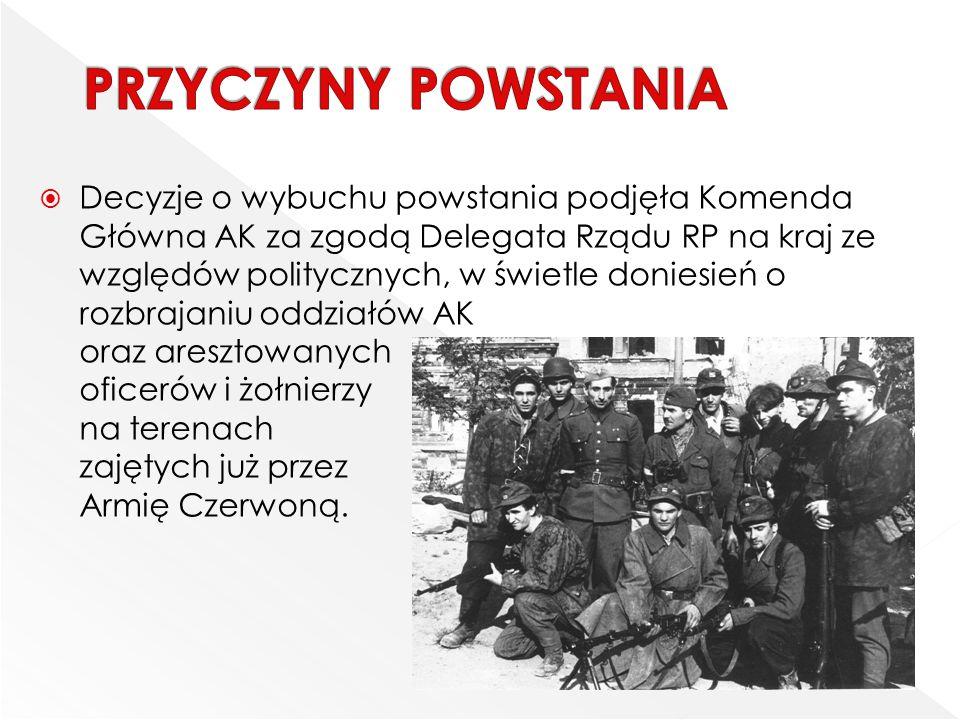  W Powstaniu warszawskim udział brała młodzież.Dzielono ją na trzy grupy wiekowe najmłodsi, tzw.