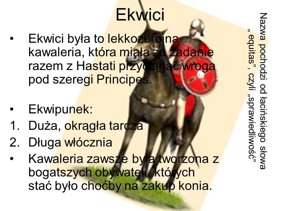 Kohorta pretorianów Oryginalnie: milicja Pretora, czyli zarządcy miasta.