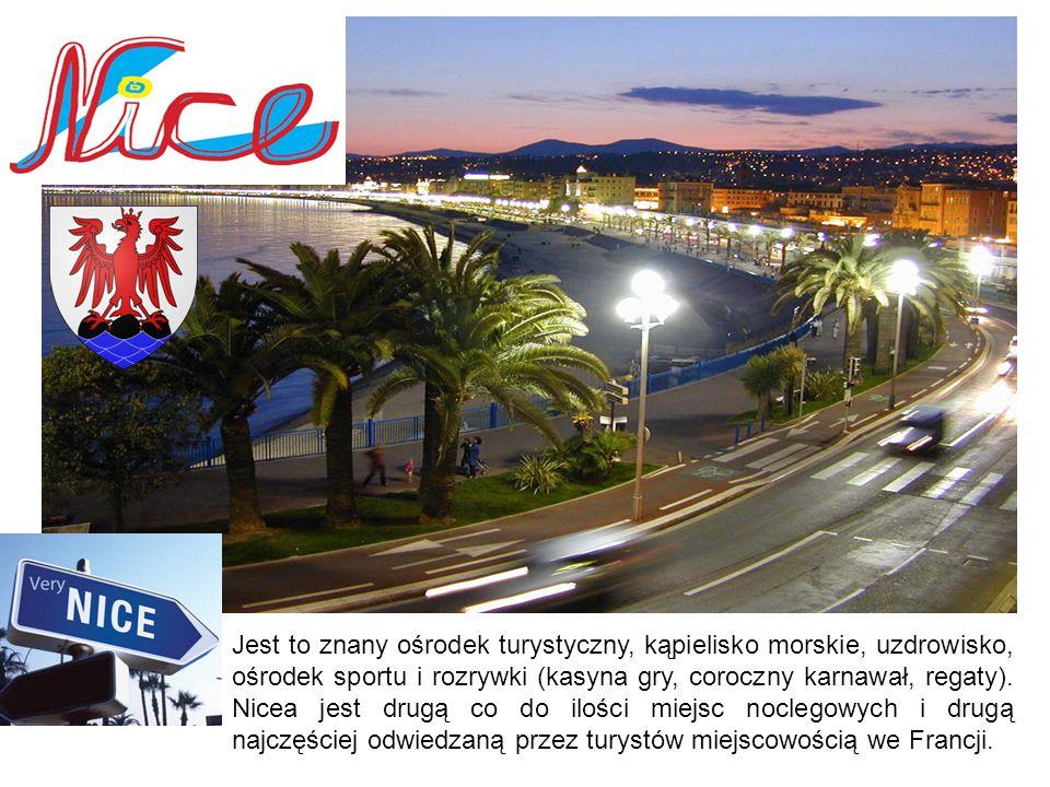 Jest to znany ośrodek turystyczny, kąpielisko morskie, uzdrowisko, ośrodek sportu i rozrywki (kasyna gry, coroczny karnawał, regaty). Nicea jest drugą