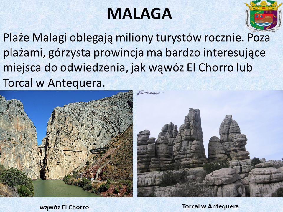MALAGA Plaże Malagi oblegają miliony turystów rocznie.