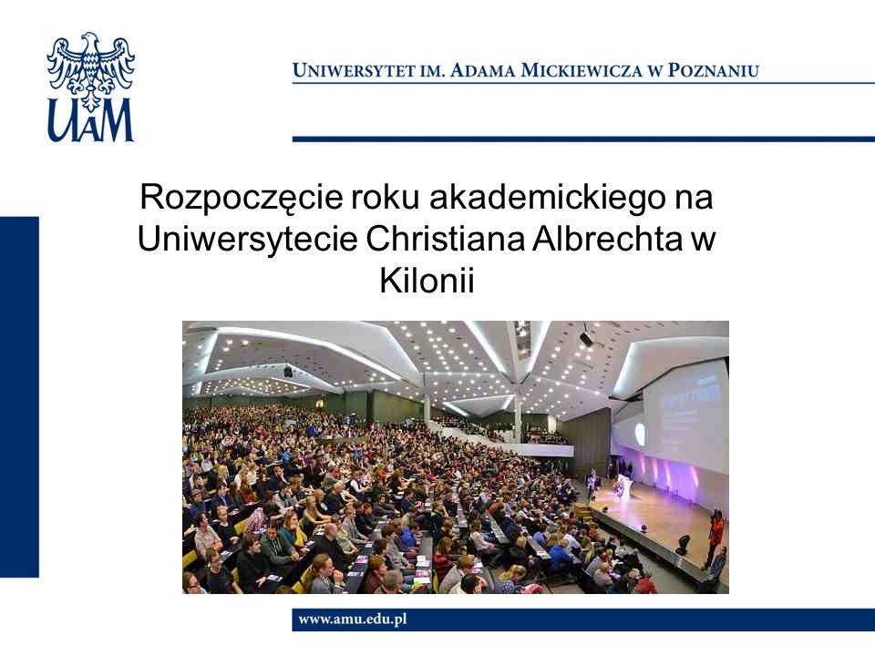 Rozpoczęcie roku akademickiego na Uniwersytecie Christiana Albrechta w Kilonii