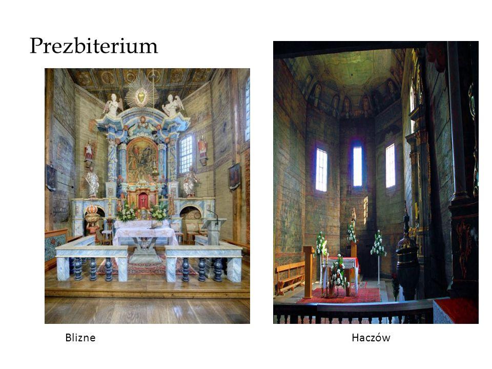 Prezbiterium BlizneHaczów