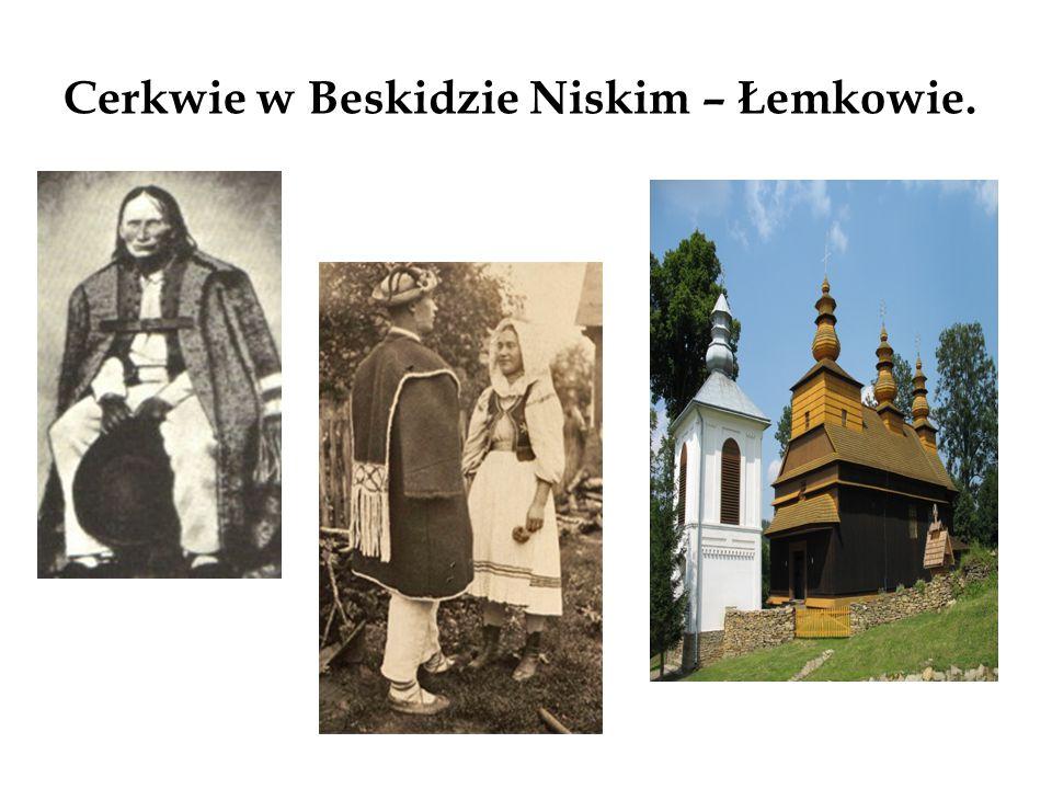 Cerkwie w Bieszczadach - Bojkowie