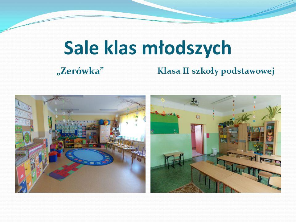 """Sale klas młodszych """"Zerówka Klasa II szkoły podstawowej"""