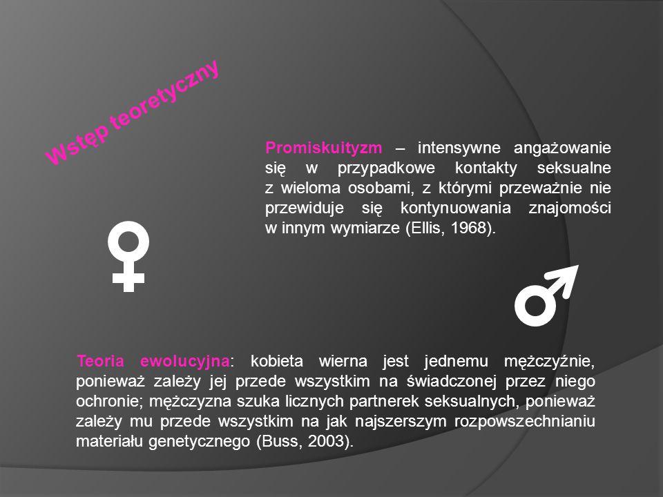 Promiskuityzm – intensywne angażowanie się w przypadkowe kontakty seksualne z wieloma osobami, z którymi przeważnie nie przewiduje się kontynuowania z