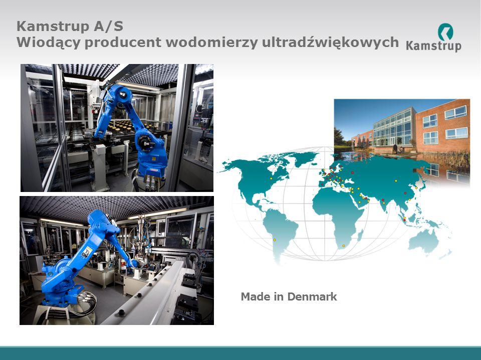 Kamstrup A/S Wiodący producent wodomierzy ultradźwiękowych Made in Denmark