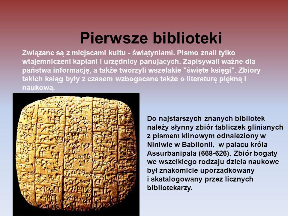 Związane są z miejscami kultu - świątyniami. Pismo znali tylko wtajemniczeni kapłani i urzędnicy panujących. Zapisywali ważne dla państwa informację,