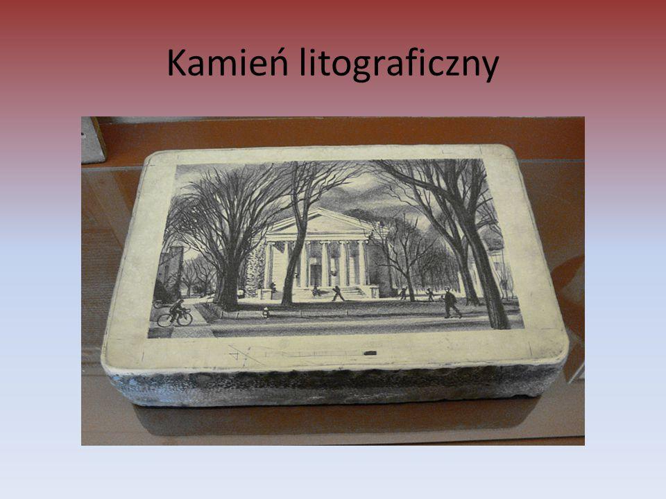 Kamień litograficzny