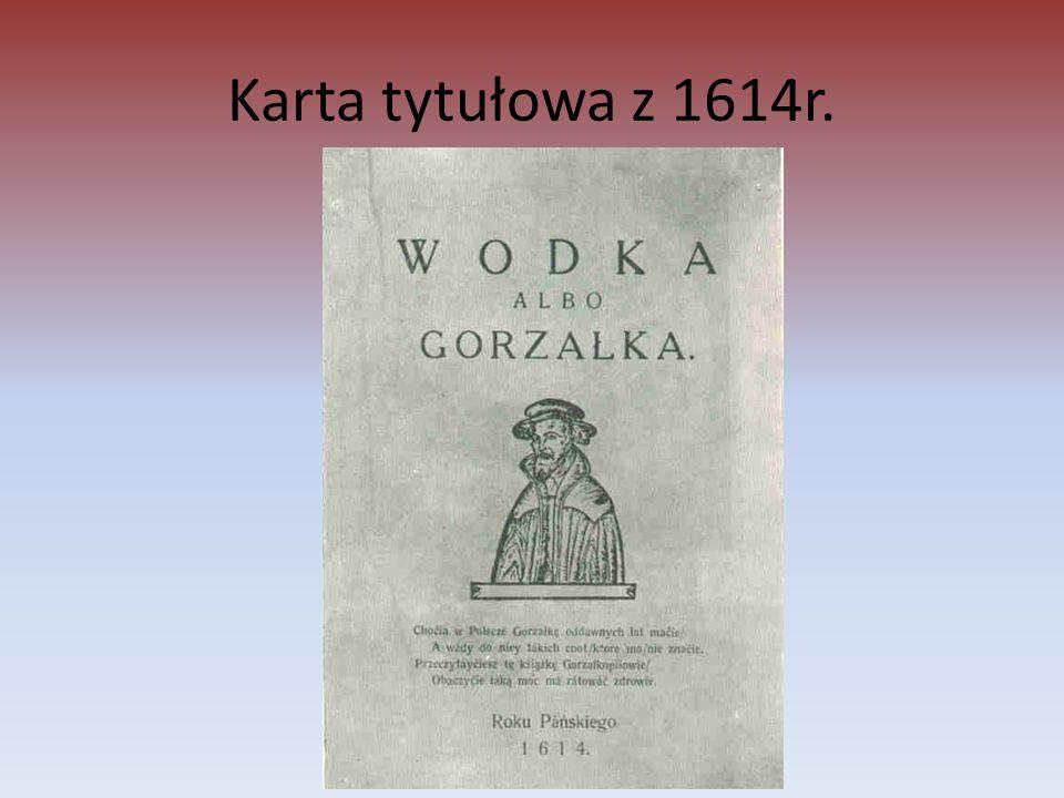 Karta tytułowa z 1614r.