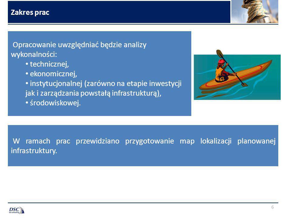Kluczowe dane źródłowe 7 Zestawienie wniosków inwestycyjnych przygotowane przez potencjalnych beneficjentów Koncepcja zagospodarowania szlaków wodnych województwa pomorskiego dla turystyki kajakowej Plan Zagospodarowania Przestrzennego Województwa Pomorskiego Dokumentacja i informacje na temat istniejących inwestycji i produktów turystycznych dot.
