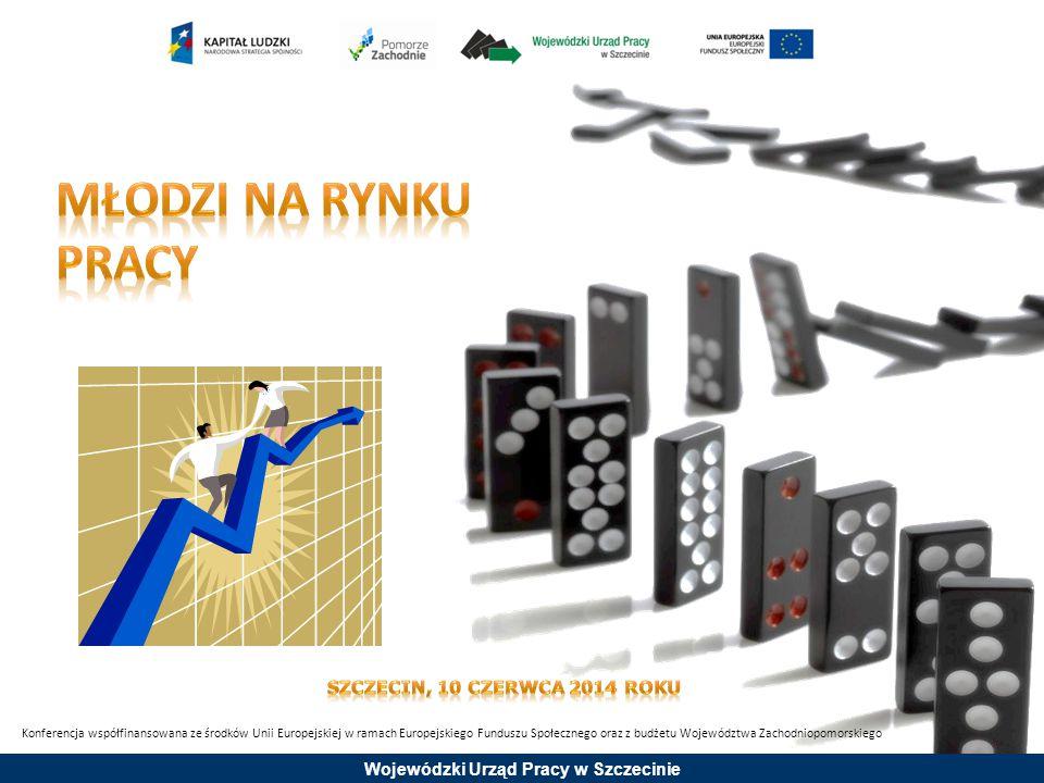 Wojewódzki Urząd Pracy w Szczecinie Stopa bezrobocia w grupie osób do 25 roku życia wg EUROSTAT w kwietniu 2014 roku * 03.2014 r.