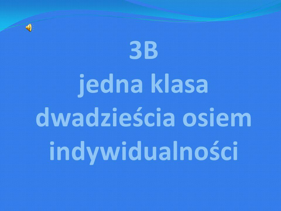 3B jedna klasa dwadzieścia osiem indywidualności