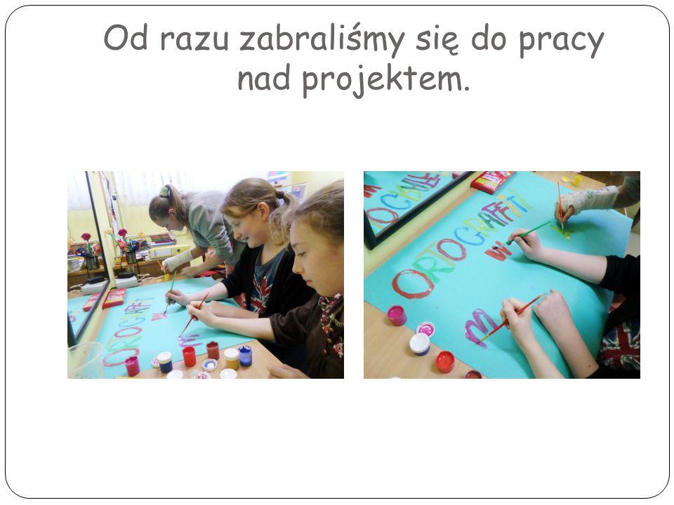 W myśl hasła: Dysleksja nie może być wymówką !, mamy zamiar dalej wytrwale pracować.