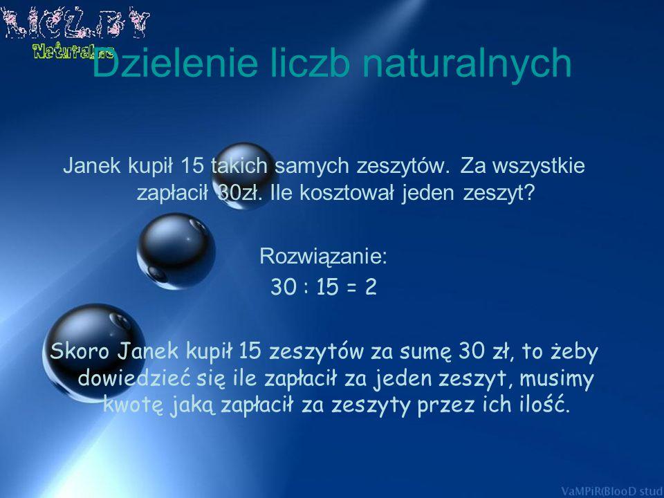 Mnożenie liczb naturalnych iloczyn 8 4 = 32 czynniki