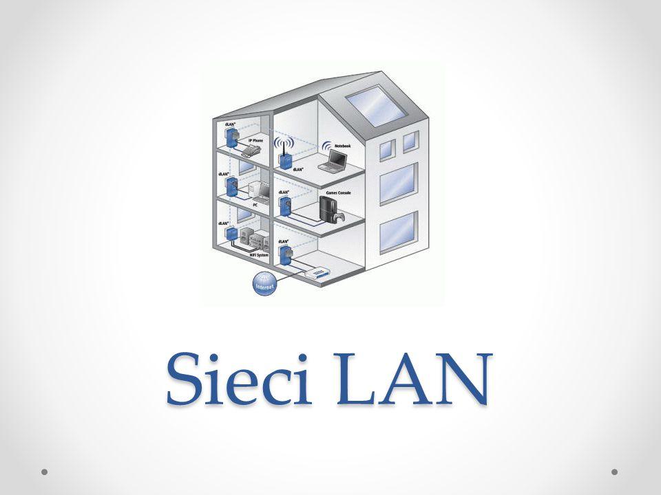 Model OSI Opisuje drogę danych od aplikacji w systemie jednej stacji roboczej do aplikacji w systemie drugiej.