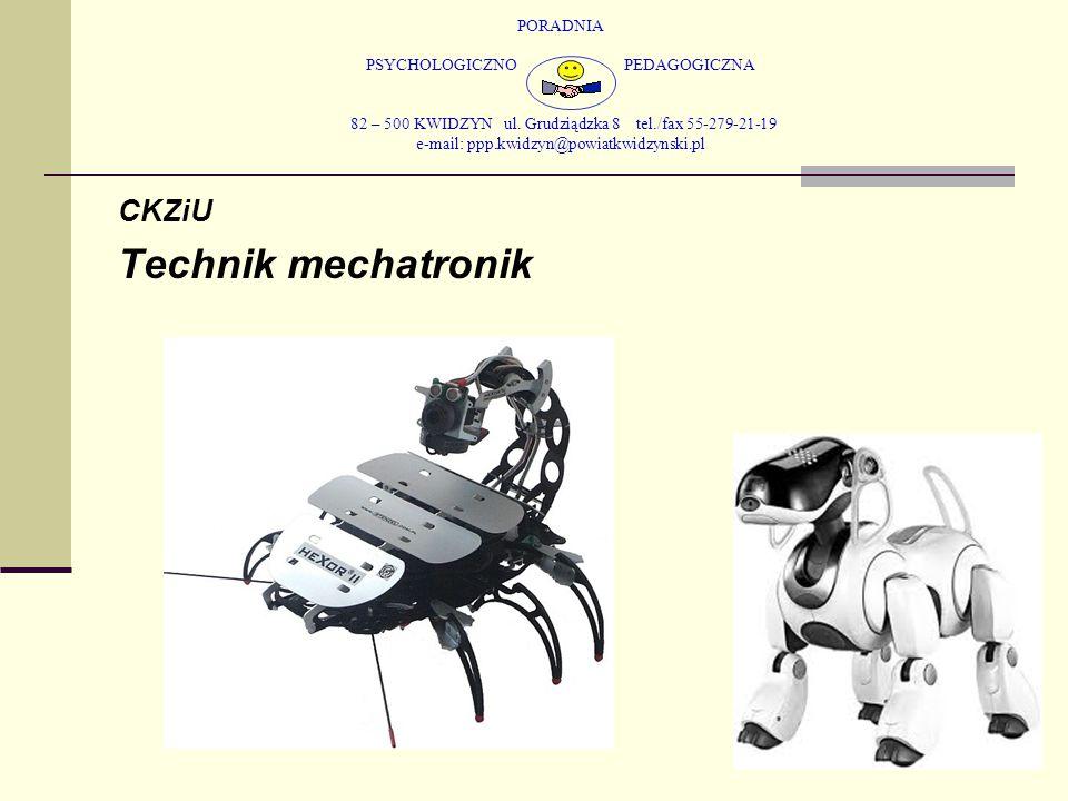PORADNIA PSYCHOLOGICZNO PEDAGOGICZNA 82 – 500 KWIDZYN ul. Grudziądzka 8 tel./fax 55-279-21-19 e-mail: ppp.kwidzyn@powiatkwidzynski.pl CKZiU Technik me