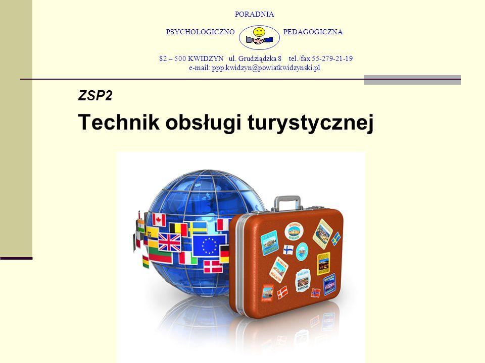 PORADNIA PSYCHOLOGICZNO PEDAGOGICZNA 82 – 500 KWIDZYN ul. Grudziądzka 8 tel./fax 55-279-21-19 e-mail: ppp.kwidzyn@powiatkwidzynski.pl ZSP2 Technik obs
