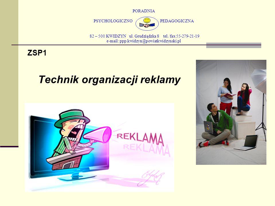 PORADNIA PSYCHOLOGICZNO PEDAGOGICZNA 82 – 500 KWIDZYN ul. Grudziądzka 8 tel./fax 55-279-21-19 e-mail: ppp.kwidzyn@powiatkwidzynski.pl ZSP1 Technik org