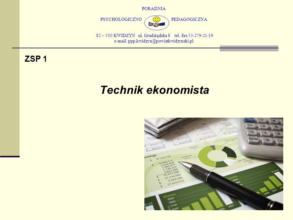 PORADNIA PSYCHOLOGICZNO PEDAGOGICZNA 82 – 500 KWIDZYN ul. Grudziądzka 8 tel./fax 55-279-21-19 e-mail: ppp.kwidzyn@powiatkwidzynski.pl ZSP 1 Technik ek