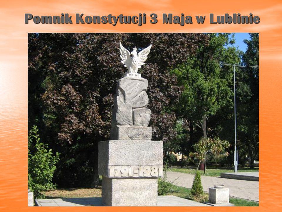 Pomnik Konstytucji 3 Maja w Lublinie
