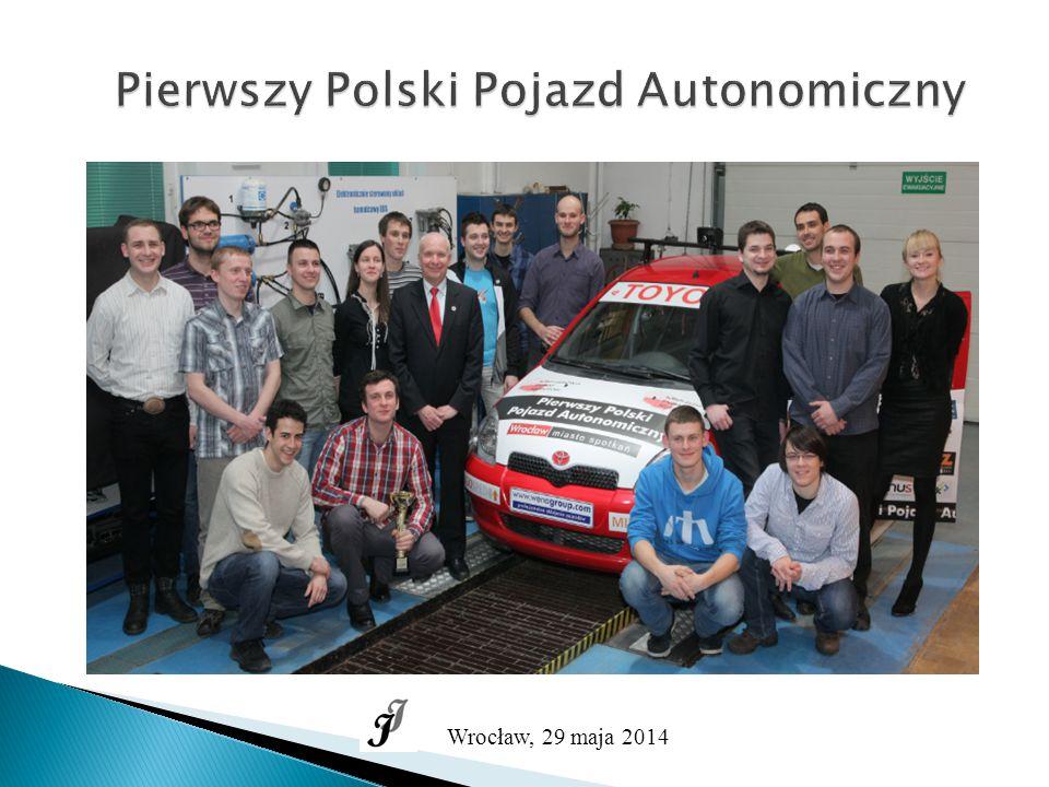 Pierwszy Polski Pojazd Autonomiczny Wrocław, 29 maja 2014