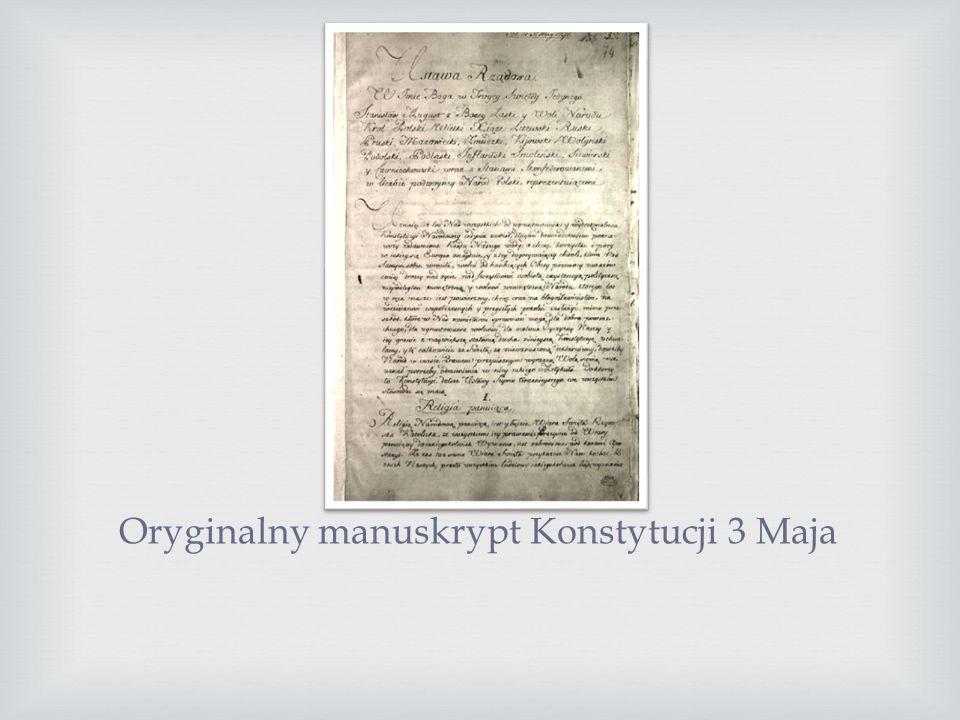 Miejscem obrad był Zamek Królewski w Warszawie strzeżony przez Gwardię Królewską i oddziały wojskowe pod dowództwem księcia Józefa Poniatowskiego, któ