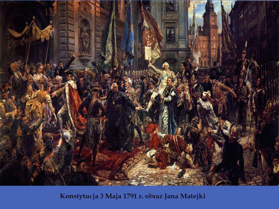 Konstytucja 3 Maja 1791 r. obraz Jana Matejki