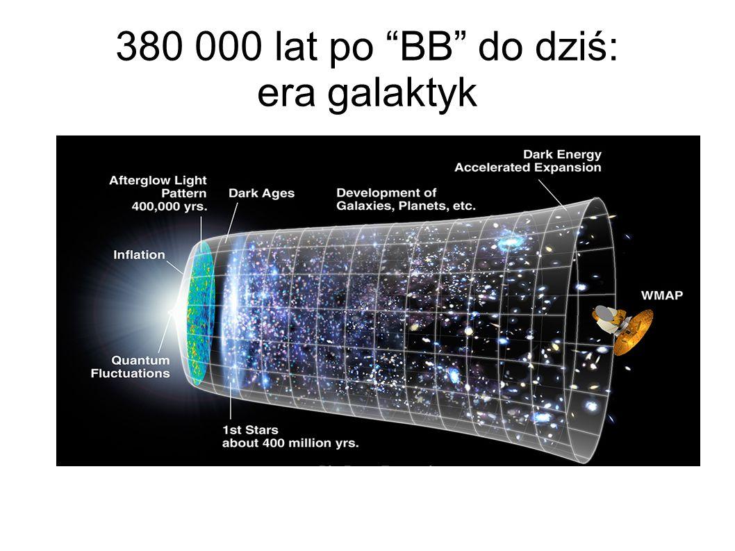"380 000 lat po ""BB"" do dziś: era galaktyk"
