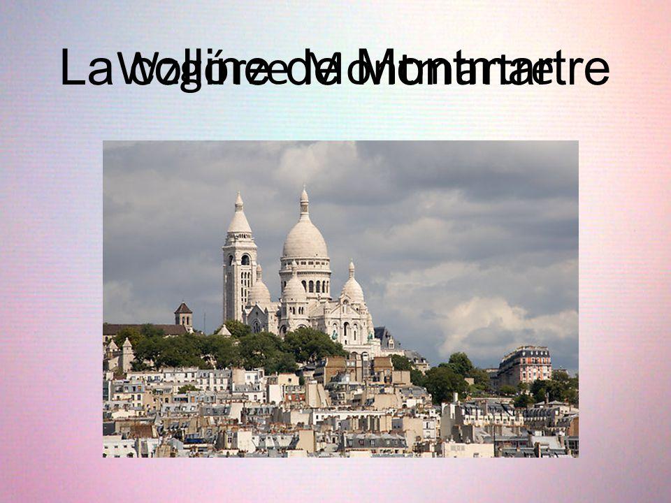 La colline de Montmartre Wzgórze Montmartre