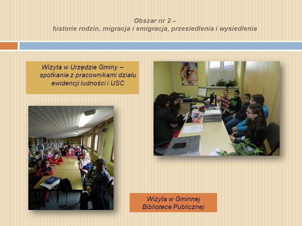 Obszar nr 2 – historie rodzin, migracja i emigracja, przesiedlenia i wysiedlenia Ilu w Pcimiu jest mieszkańców.
