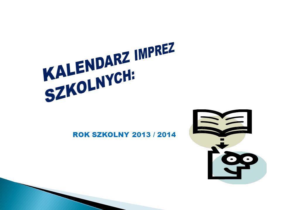 ROK SZKOLNY 2013 / 2014
