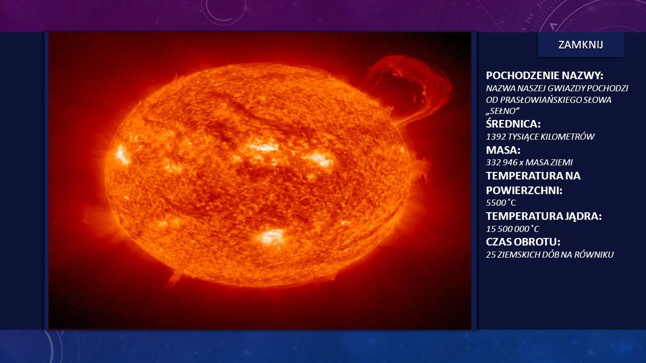 SŁOŃCE - INFORMACJE Najważniejszym obiektem na naszym niebie jest Słońce. Jego energia kształtuje klimat Ziemi i podtrzymuje na niej życie. Słońce jes