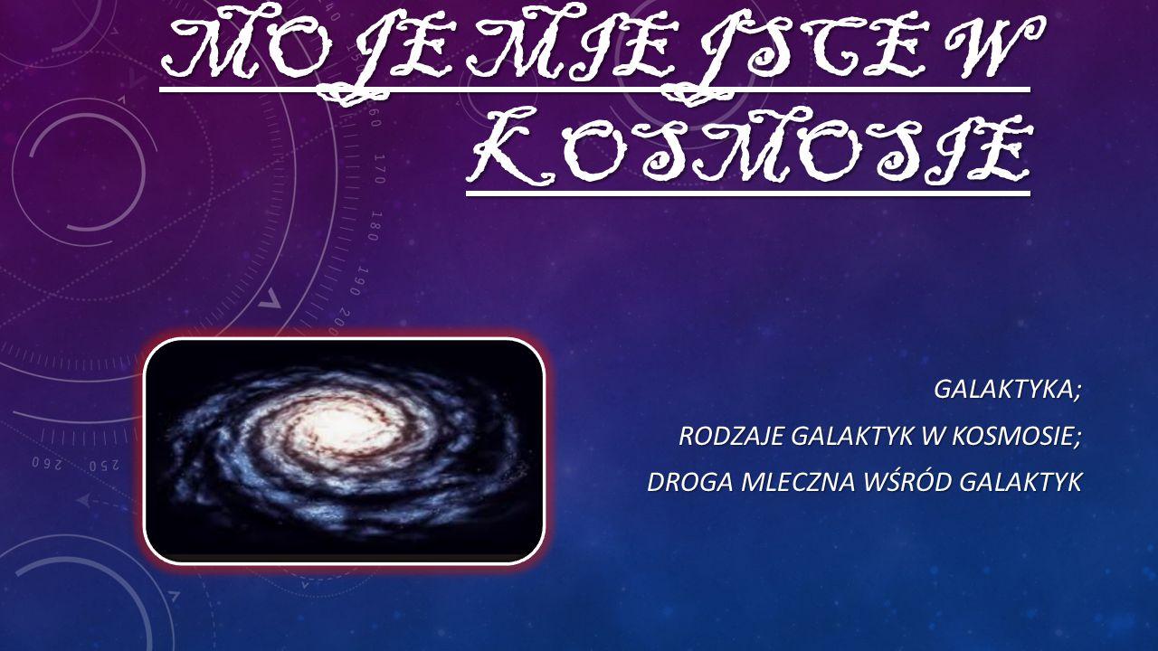 spiralna soczewkowata eliptyczna nieregularna PODZIAŁ GALAKTYK WEDŁUG HUBBLE'A bez poprzeczki z poprzeczk ą RODZAJE Galaktyka to układ gwiazd i materii międzygwiazdowej i jest największym związanym grawitacyjnie systemem gwiazd występującym we Wszechświecie.