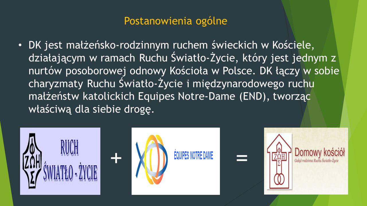 DK jest małżeńsko-rodzinnym ruchem świeckich w Kościele, działającym w ramach Ruchu Światło-Życie, który jest jednym z nurtów posoborowej odnowy Kości