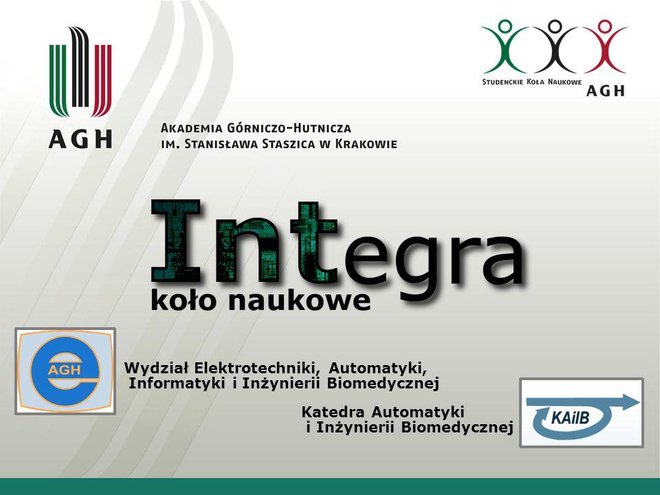Wydział Elektrotechniki, Automatyki, Informatyki i Inżynierii Biomedycznej Katedra Automatyki i Inżynierii Biomedycznej