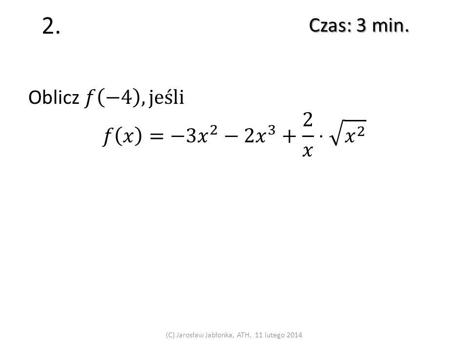1. Czas: 4 min. (C) Jarosław Jabłonka, ATH, 19 sierpnia 201419 sierpnia 2014