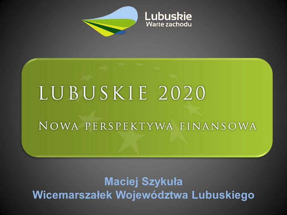 Wykaz 32 inwestycji regionalnych RPO – Lubuskie 2020 12.