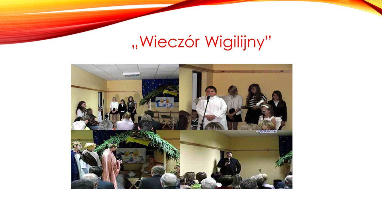 20.12.13r odbył się wieczór wigilijny w Michniowie.