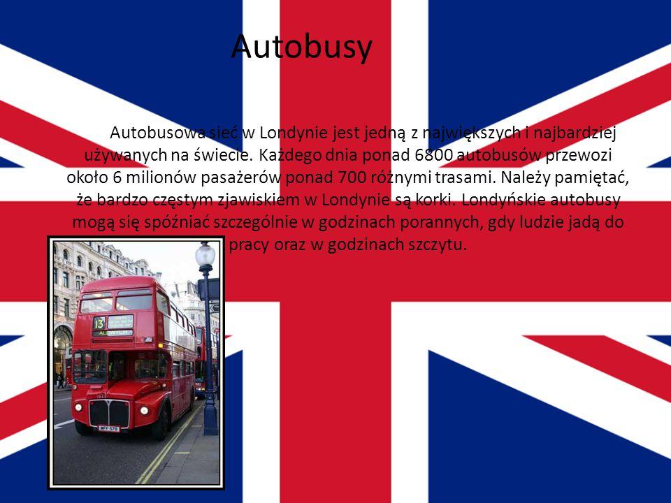 Taxi Jednym z najbardziej rozpoznawalnych symboli Londynu są czarne taksówki. Pojazdy te produkowane są w limitowanych ilościach praktycznie wyłącznie