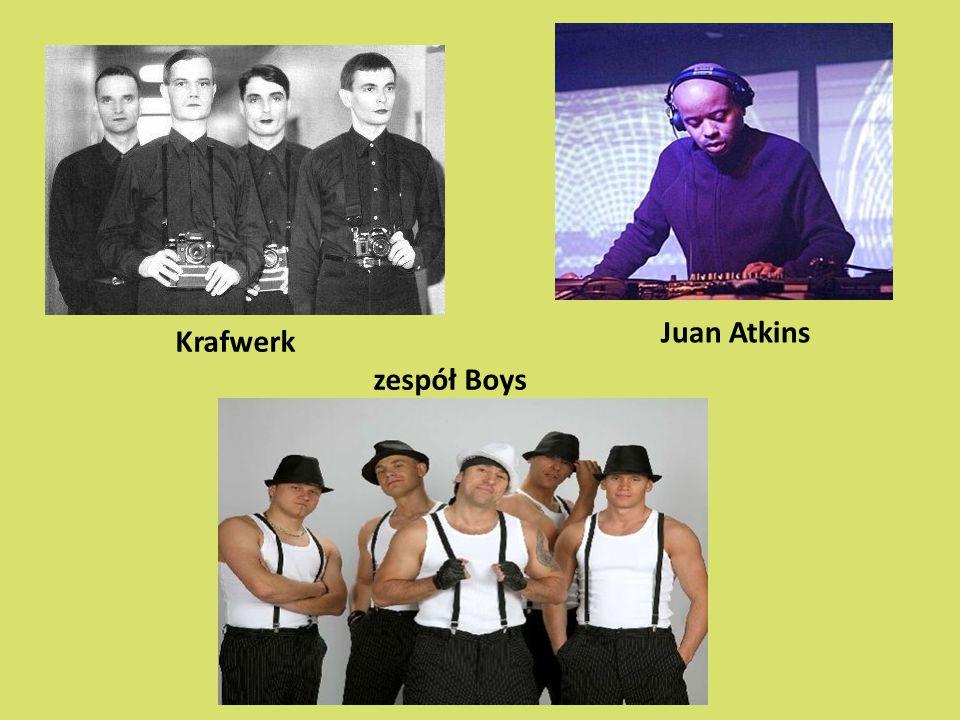 Krafwerk zespół Boys Juan Atkins