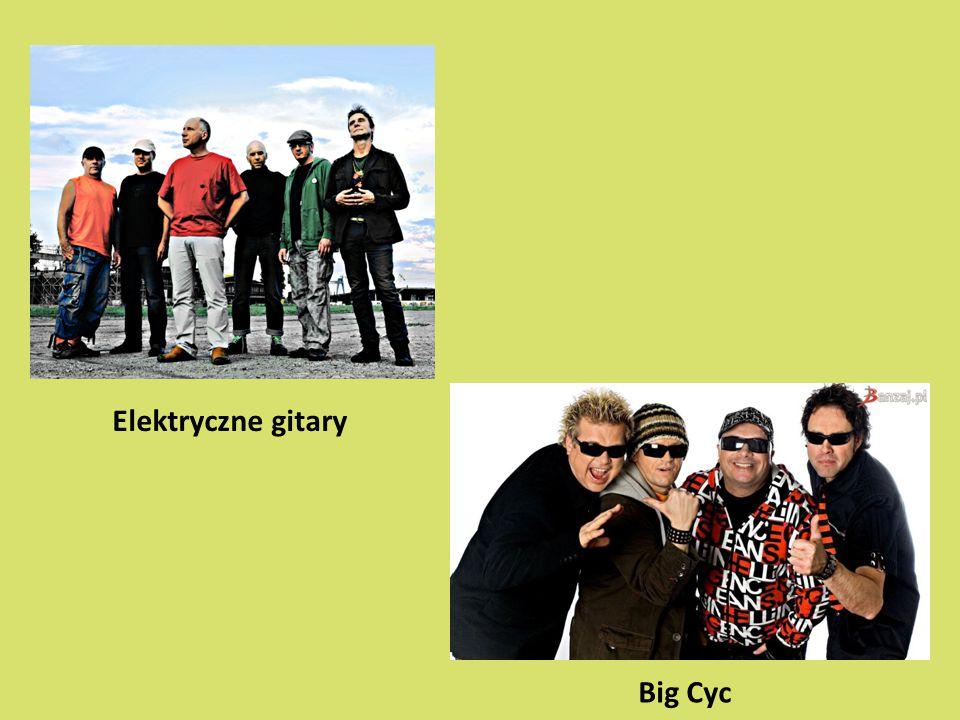 Elektryczne gitary Big Cyc