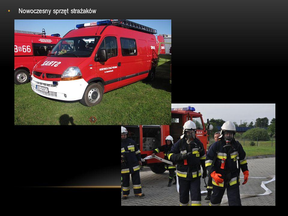 Nowoczesny sprzęt strażaków