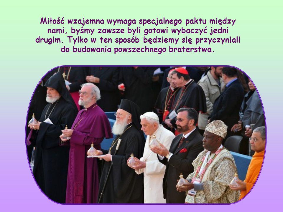 """Od tych, którzy są wezwani do życia duchowością wspólnotową, czyli duchowością chrześcijańską, Nowy Testament żąda czegoś więcej: """"Wybaczajcie sobie n"""