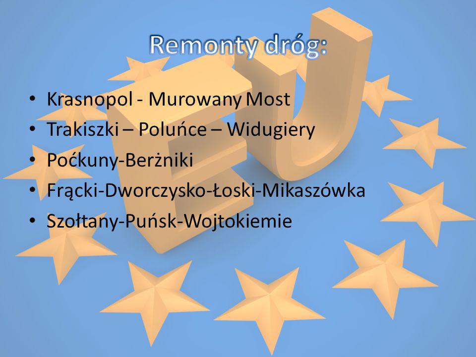 Krasnopol - Murowany Most Trakiszki – Poluńce – Widugiery Poćkuny-Berżniki Frącki-Dworczysko-Łoski-Mikaszówka Szołtany-Puńsk-Wojtokiemie