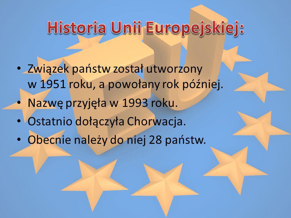 Związek państw został utworzony w 1951 roku, a powołany rok później. Nazwę przyjęła w 1993 roku. Ostatnio dołączyła Chorwacja. Obecnie należy do niej