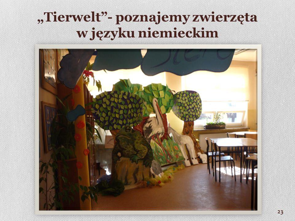 """""""Tierwelt - poznajemy zwierzęta w języku niemieckim 23"""