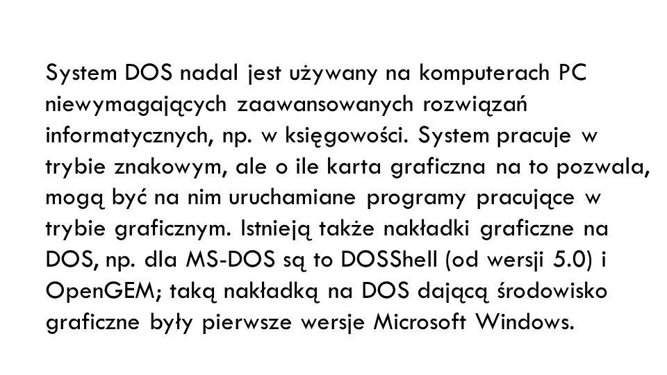 Tryb linii komend pozwala użytkownikowi na zlecanie wykonywania operacji systemowi operacyjnemu poprzez wpisywanie komend z klawiatury z pominięciem graficznego interfejsu użytkownika (GUI).