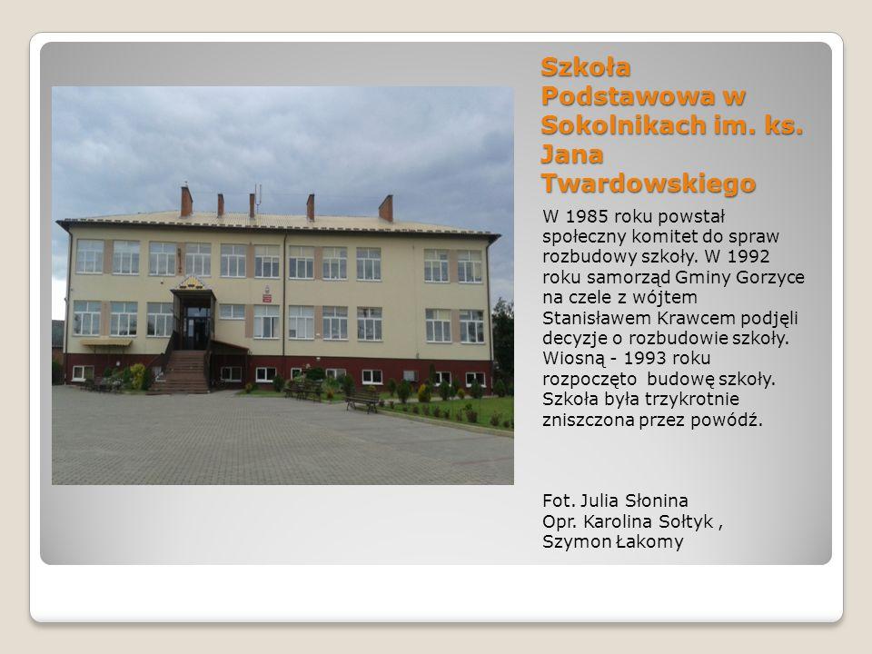 Szkoła Podstawowa w Sokolnikach im.ks.